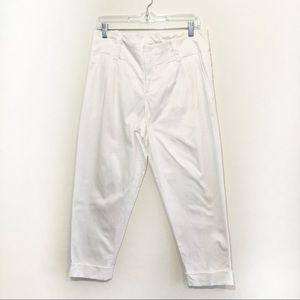 Alice & Olivia pleated front cuffed hem pants
